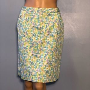 Liz Sport Floral Skirt Size 6